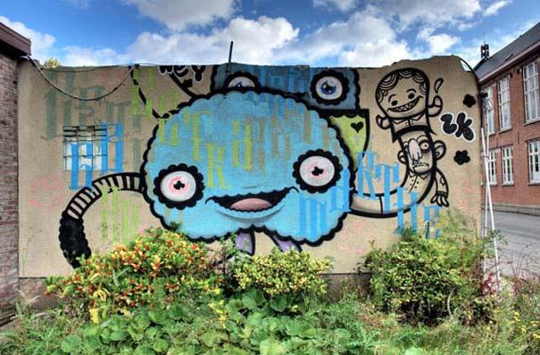 Doel: Το εγκαταλελειμμένο χωριό που παραδόθηκε στην τέχνη του δρόμου (31)