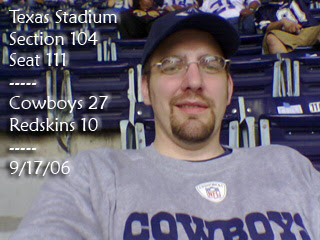 Decked out in Cowboys Gear