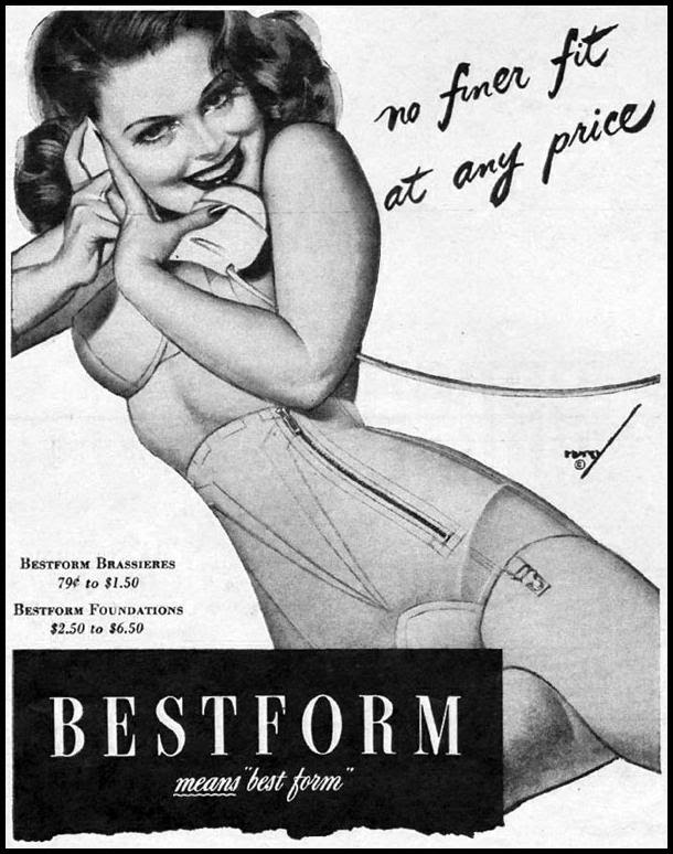 BESTFORM BRAS AND FOUNDATIONS LIFE 11/13/1944 p. 86