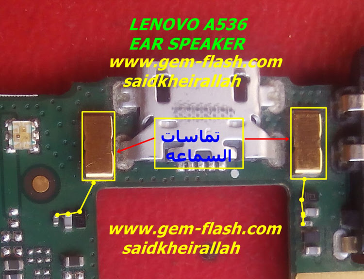 Lenovo A536 Earpiece Solution Ear Speaker Problem Jumper Ways