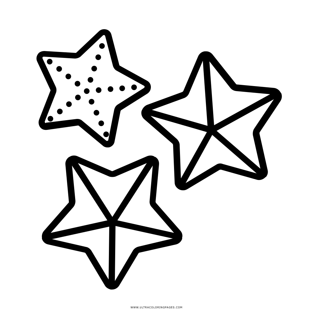 Dibujo De Estrella De Mar Para Colorear Ultra Coloring Pages