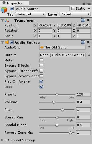 Completed Audio Listener – GameDev Academy