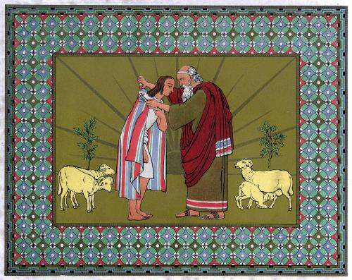 File:Jacob blesses Joseph and gives him the coat.JPG