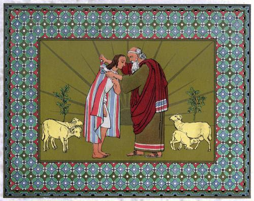 File:Jacob blesses Joseph and gives him the coat.JPG