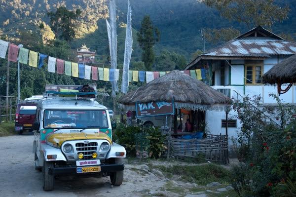 Vehículo para transporte de pasajeros en Sikkim
