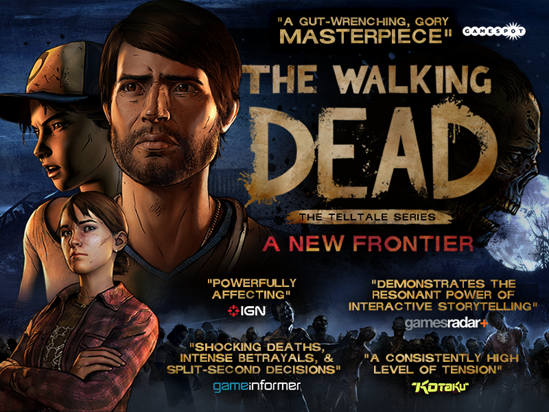 telltale game the walking dead a new frontier