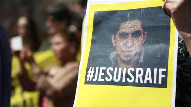 Manifestation en appui à Raif Badawi (archives)