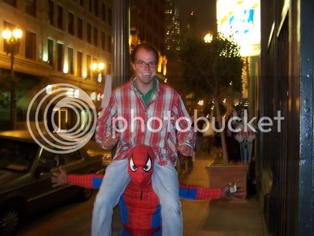 Skip and the Spiderman 3 Midget