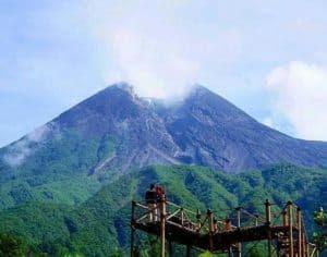 Rute menuju Bukit Klangon Merapi