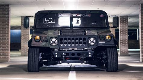 mil spec automotive  built  track focused hummer