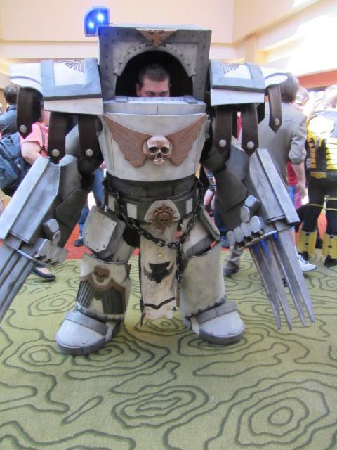 Luna Wolves Mark I Terminator pre heresy cosplay by TeamDaiGurren
