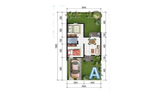 6000 Koleksi Desain Rumah Kpr Type 29/60 Terbaru