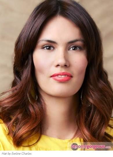 Two Toned Colored Hair: Cool Hair Color Ideas For Brunettes