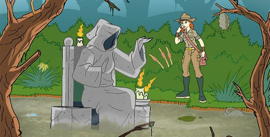 One of the episodes of the online game series Treasure of Big Totem!