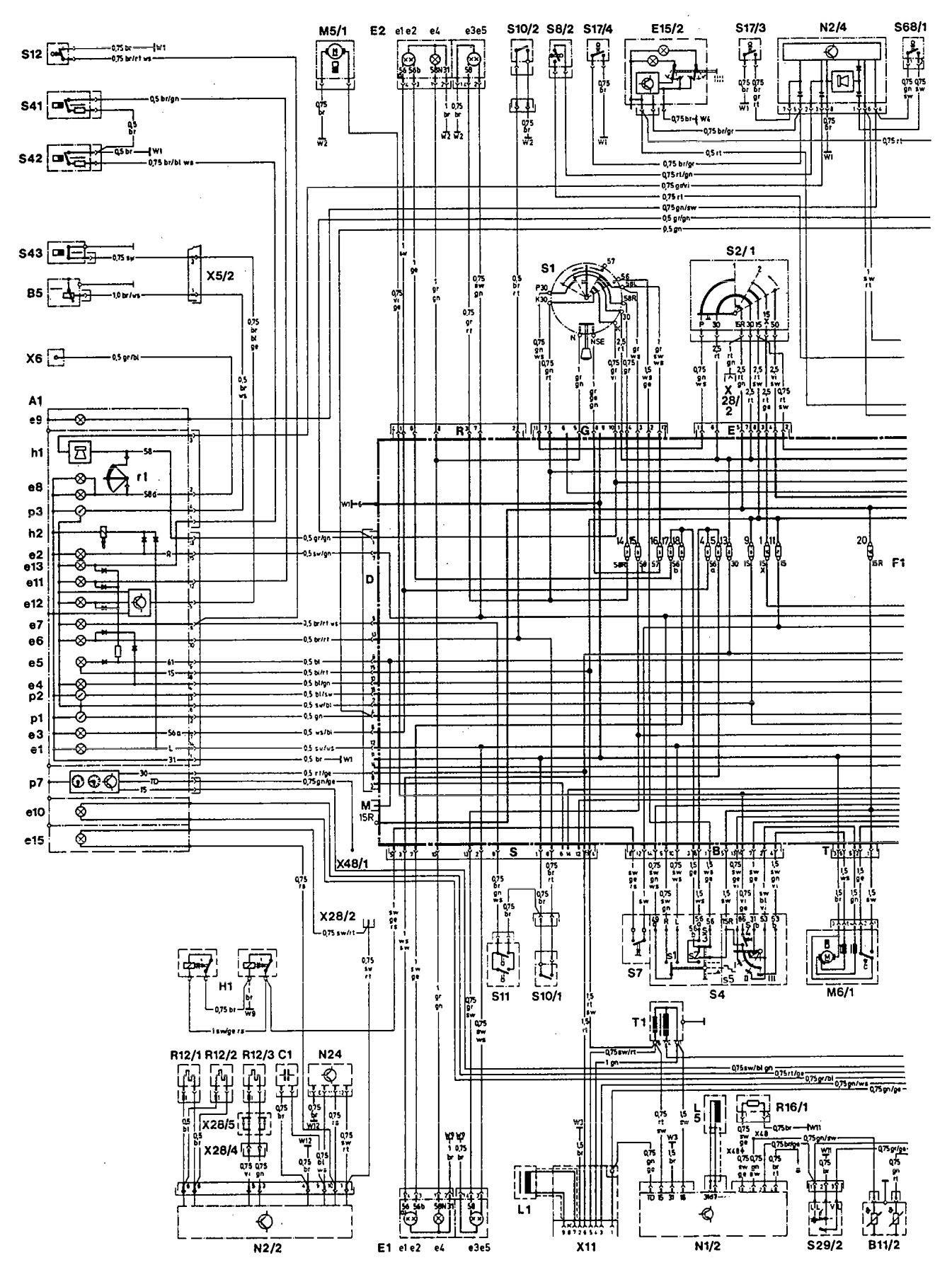 Mercede Sprinter Fuse Box Diagram