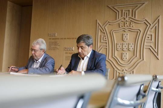 A SPORT TV é a nova parceira das Seleções Nacionais de Futebol : memorando de entendimento com a Federação Portuguesa de Futebol.