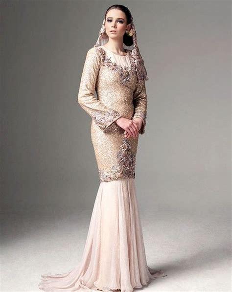 modern baju kurung pretty   wedding malay
