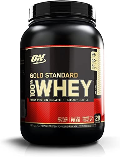 Best 2020 - Optimum Nutrition 100% Whey Gold Standard, Cake Donut, 2 Pounds