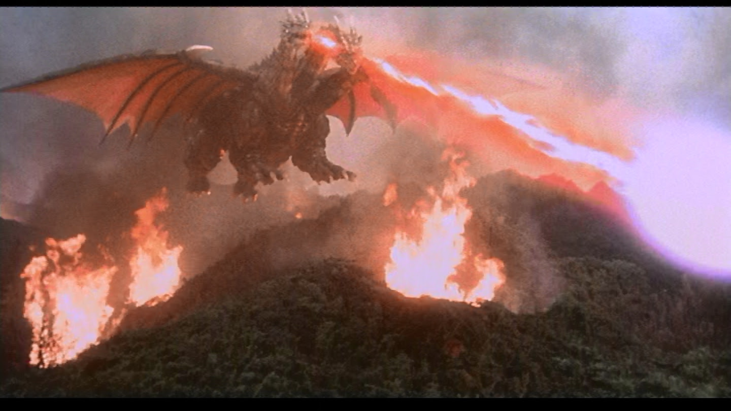 Aw crap. Now Death Ghidorah can fly.
