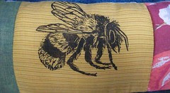 entomology pillow bee