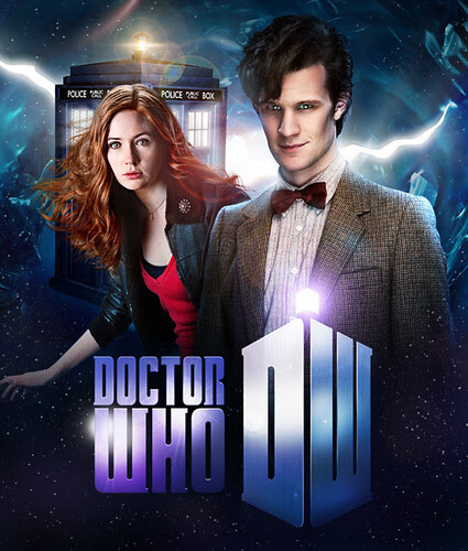 Doctor Who Series 5 Bluray Cover