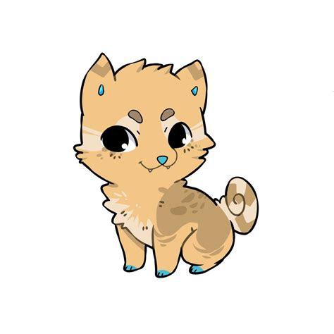 learn  draw  chibi kawaii dog   easy steps