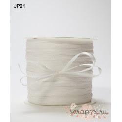 Рафия от May Arts, цвет белый, 90см