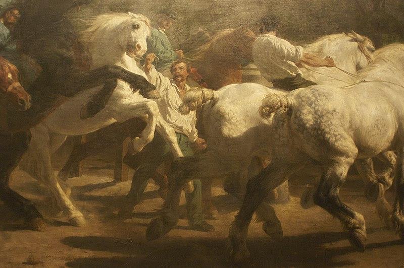 File:WLA metmuseum Rosa Bonheur The Horse Fair detail.jpg
