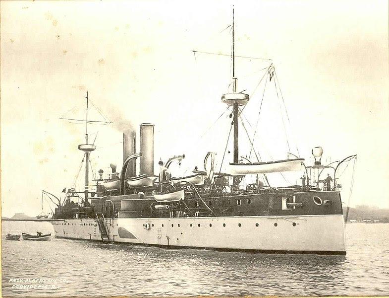 File:USS Maine ACR-1 in Havana harbor before explosion 1898.jpg