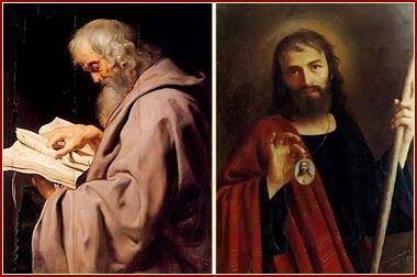 SAN SIMÓN Y SAN JUDAS TADEO, Apóstoles
