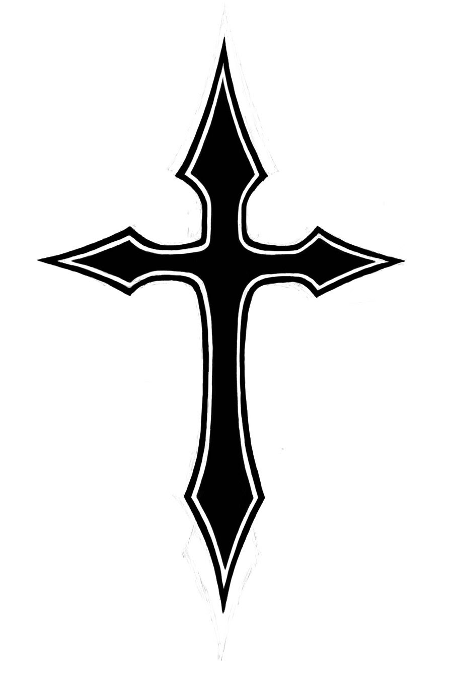 Free Cross Tattoo Cliparts Download Free Clip Art Free Clip Art On