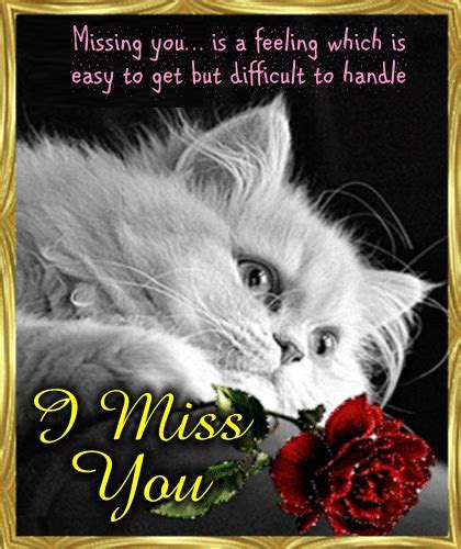 Missing You Ecard Just For You. Free Miss You eCards