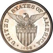50 Centavos (U.S. Administration) – obverse
