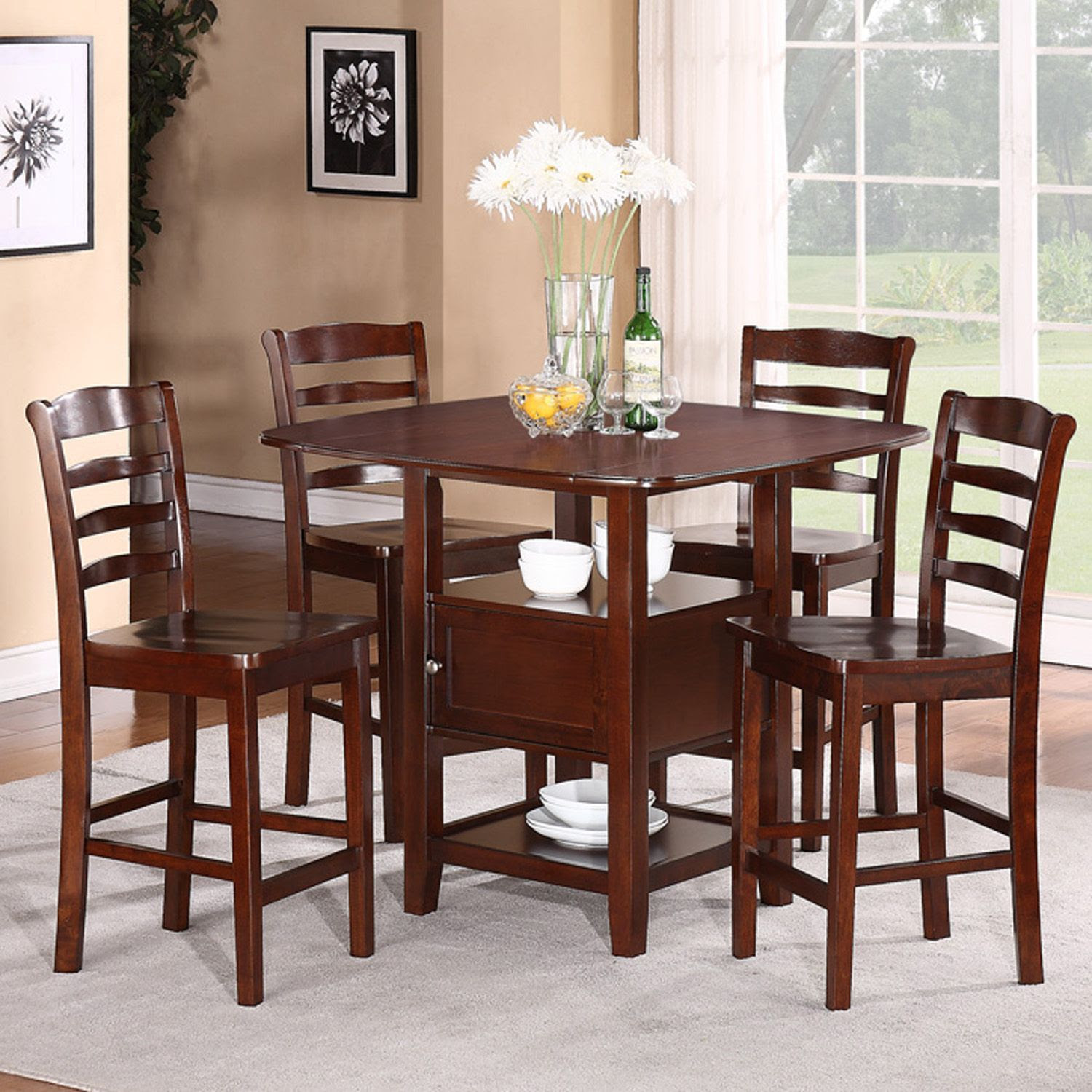 5pc Dining Set with Storage  Shop Your Way: Online Shopping \u0026 Earn Points on Tools, Appliances