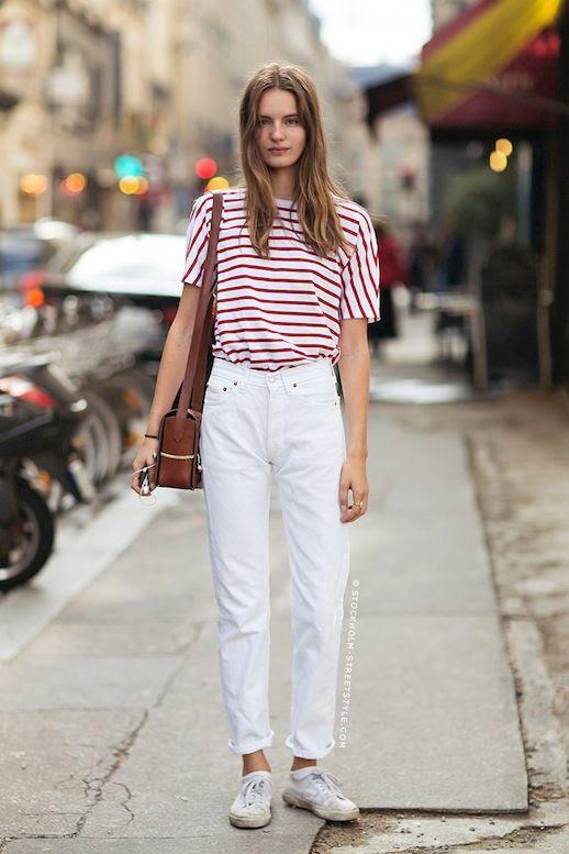 3 Le Fashion Blog 30 Fresh Ways To Wear White Jeans Model Tilda Lindstam Striped Tee Boyfriend Jeans Via Stockholm Streetstyle photo 3-Le-Fashion-Blog-30-Fresh-Ways-To-Wear-White-Jeans-Model-Tilda-Lindstam-Striped-Tee-Boyfriend-Jeans-Via-Stockholm-Streetstyle.jpg