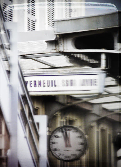 Vermeuil sur Avie station - from the train