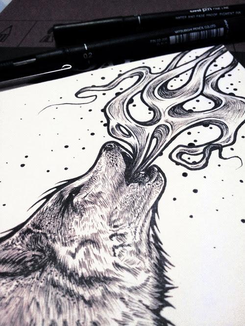 Wolf Tattoo Drawing Ideas Yo Tattoo
