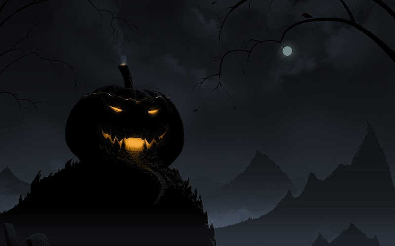 halloween wallpaper retina