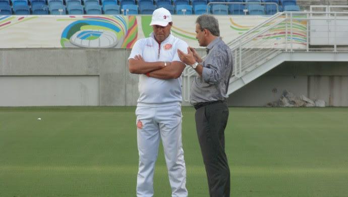 Roberto Fernandes Hermano Morais América-RN (Foto: Alexandre Filho/GloboEsporte.com)