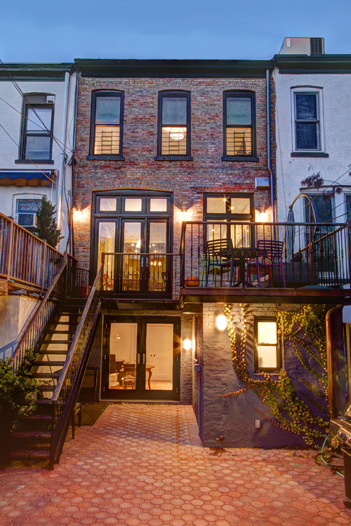 Park Slope Townhouse traditional exterior
