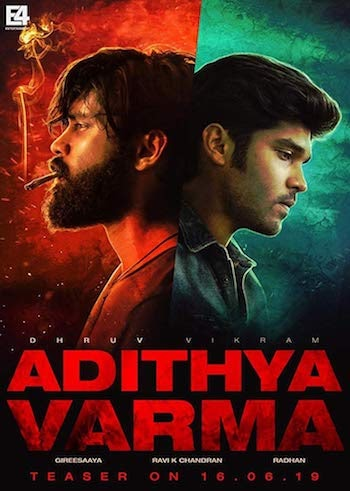Adithya Varma 2019 Hindi 720p 480p HDRip 1.2GB And 450MB