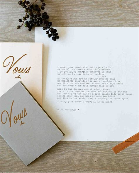 How to Write Wedding Vows   Martha Stewart Weddings