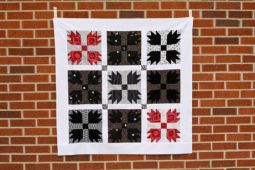 Bear Claw Quilt Top by jenib320