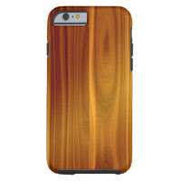Wood Teak iPhone 6/6S Tough Case Tough iPhone 6 Case