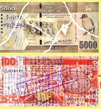 Defaced notes accepted upto March 31, 2018