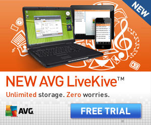 Unlimited Online Backup from AVG