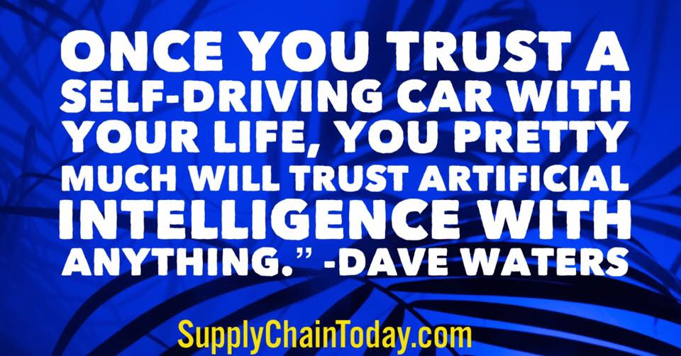 Quotes And Training About Self Driving Cars Supply Chain Today
