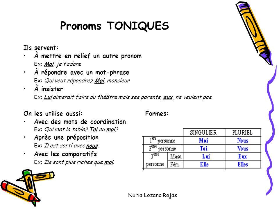 Zaimki akcentowane - gramatyka 7 - Francuski przy kawie