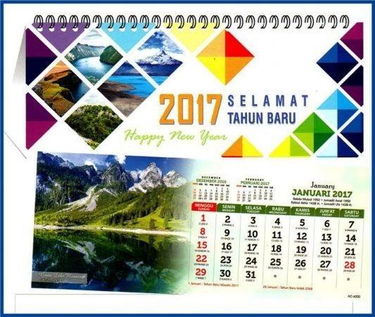 59+ Desain Kalender