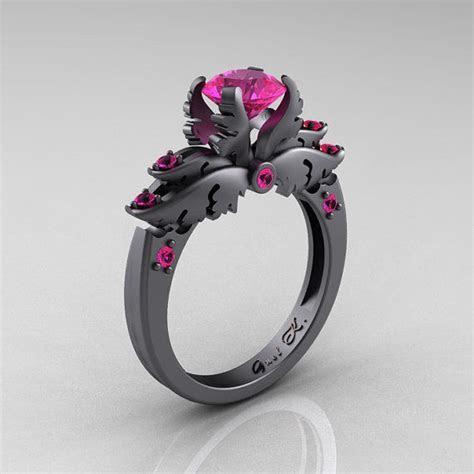 "Darkly Angelic Wedding Rings : ""black wedding rings"""